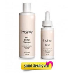 Hairxr Saç Bakım Seti 150ml Şampuan 30ml Saç Serumu